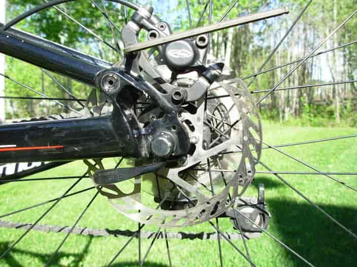 Repair Bike Disc Brakes