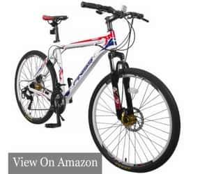 Merax Finiss 26″ Aluminum 21 Speed Mountain Bike with Disc Brakes