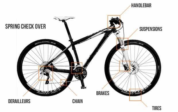 Inspect Bike Frame