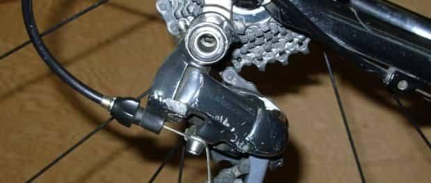 adjust rear derailleur