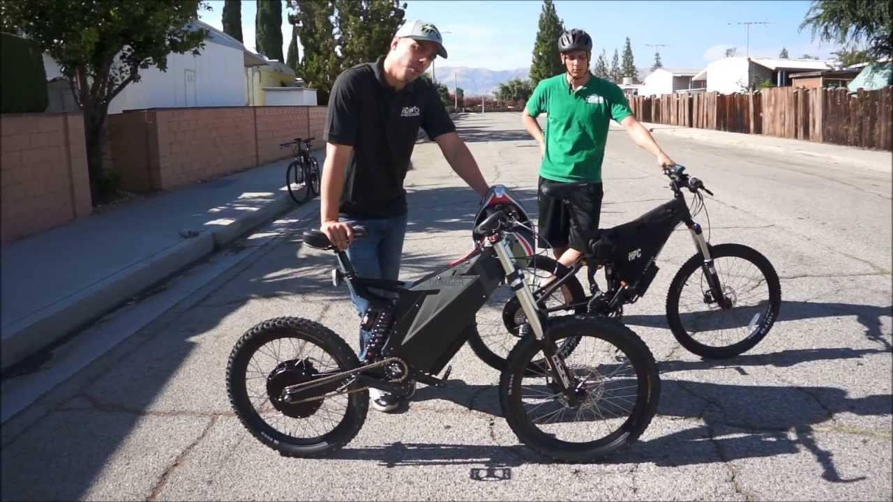 Electric Bike Vs Gas Bike