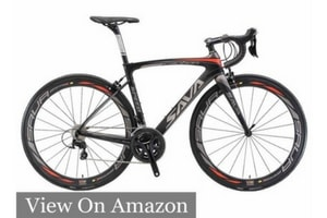 Carbon Road Bike, SAVA HERD6.0 T800 Carbon Fiber