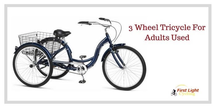 Best 3 Wheel Tricycle For Adults With Disabilities