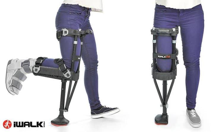 Hands-Free Knee Crutch
