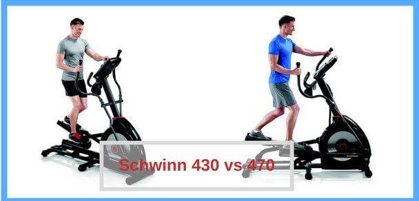 Schwinn 430 vs 470 Elliptical Comparison 2020
