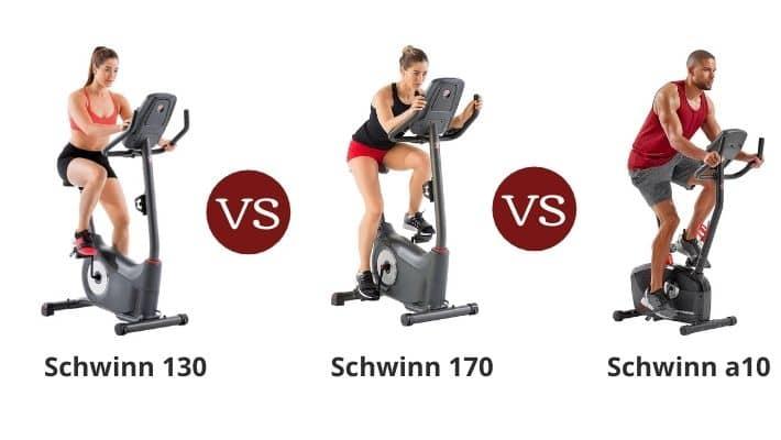 Schwinn 130 vs 170 vs a10 – Upright Series Bike