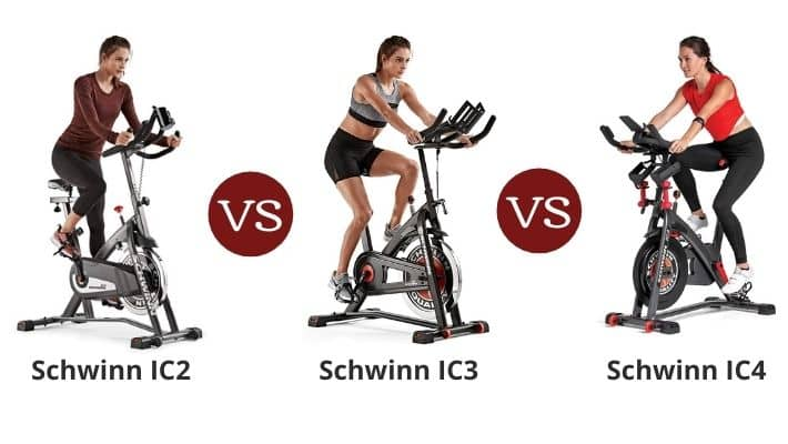 Schwinn IC2 vs IC3 vs IC4 – Indoor Cycling Bike Series