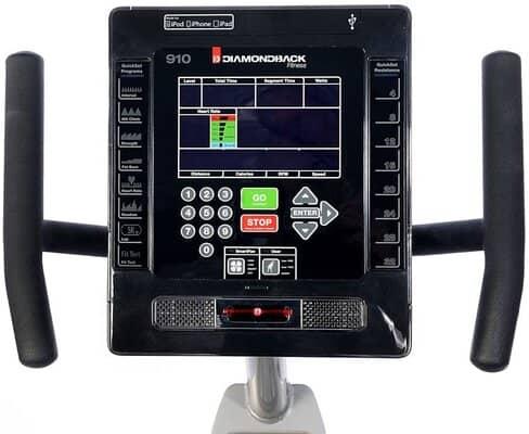 Display Type Of Diamondback 510SR vs 910SR