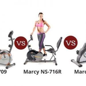 Marcy ME-709 vs NS-716R vs NS-40502R – Recumbent Exercise Bike