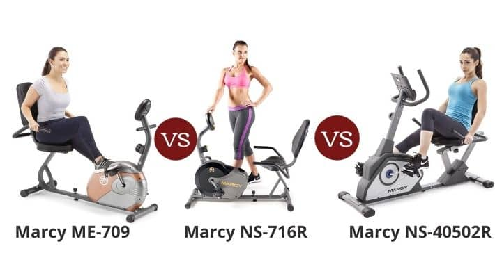 Marcy ME-709 vs NS-716R vs NS-40502R – Recumbent Exercise Bike