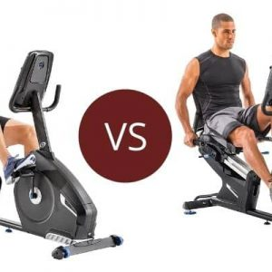 Nautilus R616 vs R618 – Recumbent Bike Series