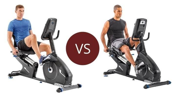 Nautilus R616 vs R618 – Recumbent Bike Series