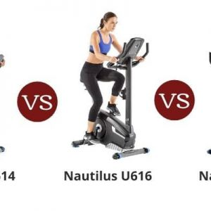 Nautilus U614 vs U616 vs U618 – Upright Bike Series