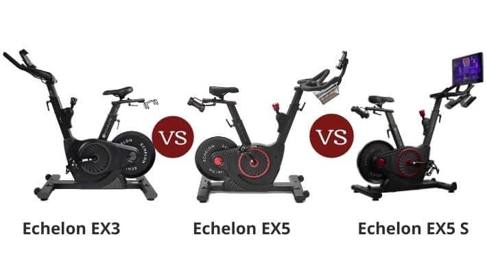 Echelon Bike EX3 vs EX5 vs EX5s – Spin Bikes