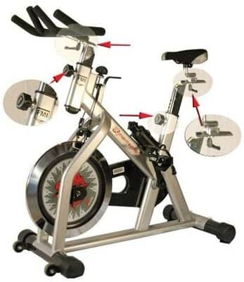 Fitness Master X Series Momentum Indoor Cycling Bike