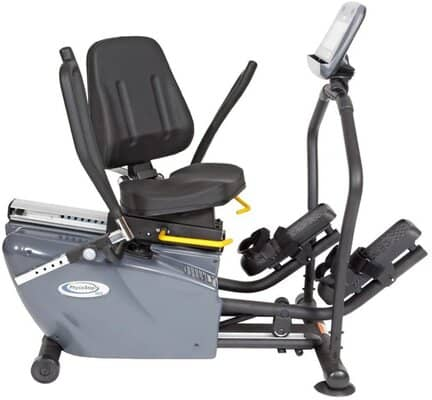 HCI Fitness PhysioStep Recumbent Elliptical with Swivel Seat
