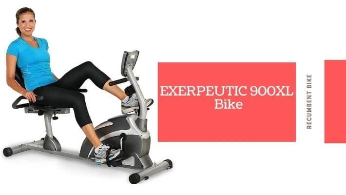 EXERPEUTIC 900XL Recumbent Exercise Bike