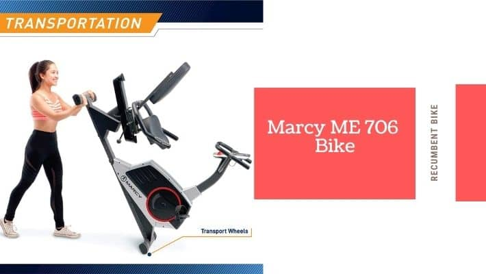 Marcy ME 706 Recumbent Exercise Bike