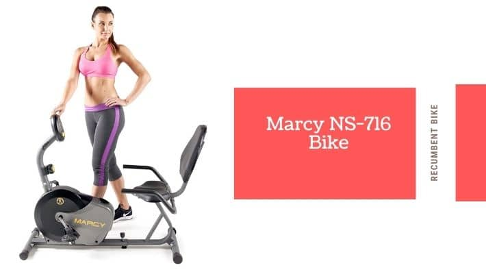 Marcy NS-716R Magnetic Recumbent Bike