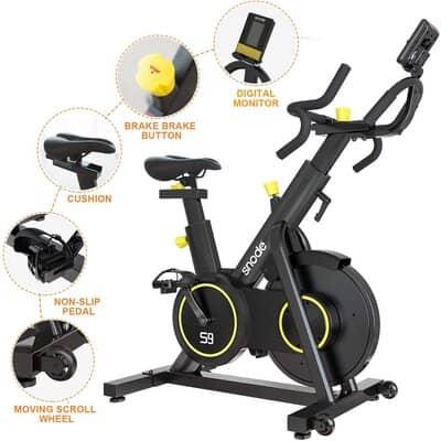 SNODE Magnetic Exercise Bike S9